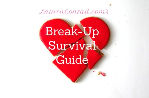 Lauren Conrad's Breakup Survival Guide {this is a must pin}