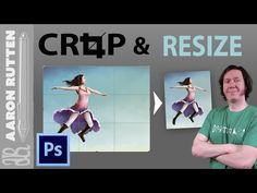 How to RESIZE & CROP Images in Photoshop CC - YouTube