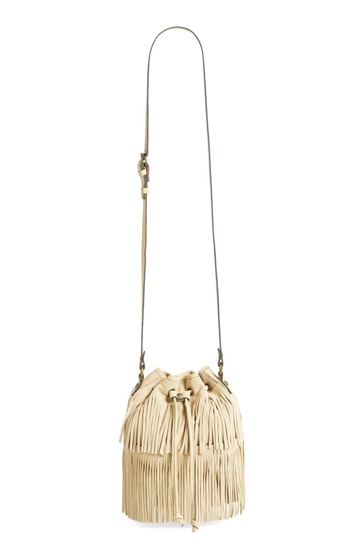 Patricia Nash 'Bronte' Fringe Bucket Bag available at #Nordstrom