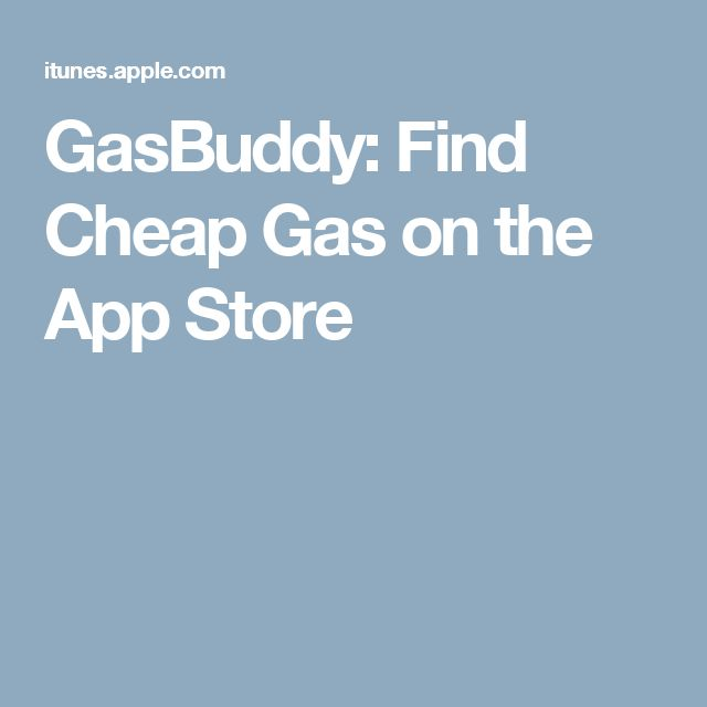 GasBuddy: Find Cheap Gas on the App Store