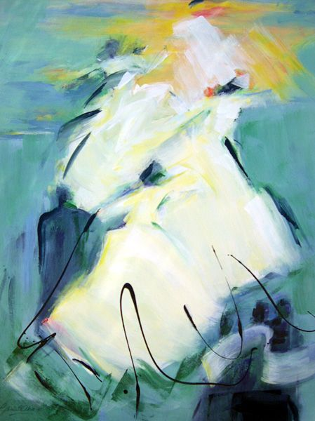 Whirling Dervish 2 -- #Turkish #Painter #Artist #Gonul #Akin