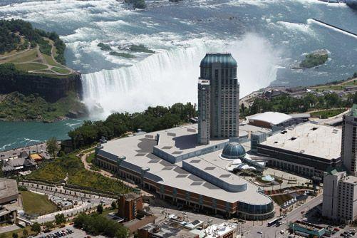 #AerialPhotography of Niagara Falls & #Casino #NiagaraFalls #Fallsview #AerialPhotographer [BP imaging - Bochsler Photo Imaging]