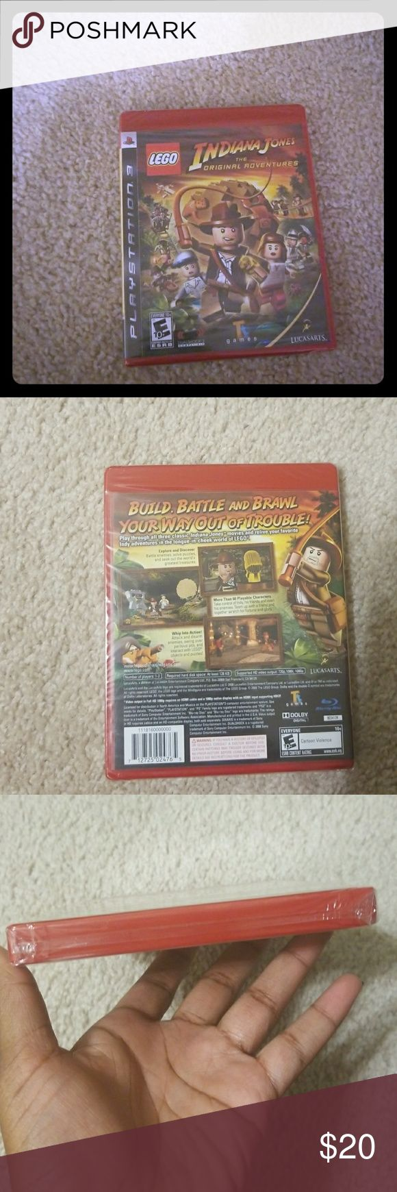 Ps3  lego game Indiana Jones  the original adventures (brand new never opened before) PlayStation Other