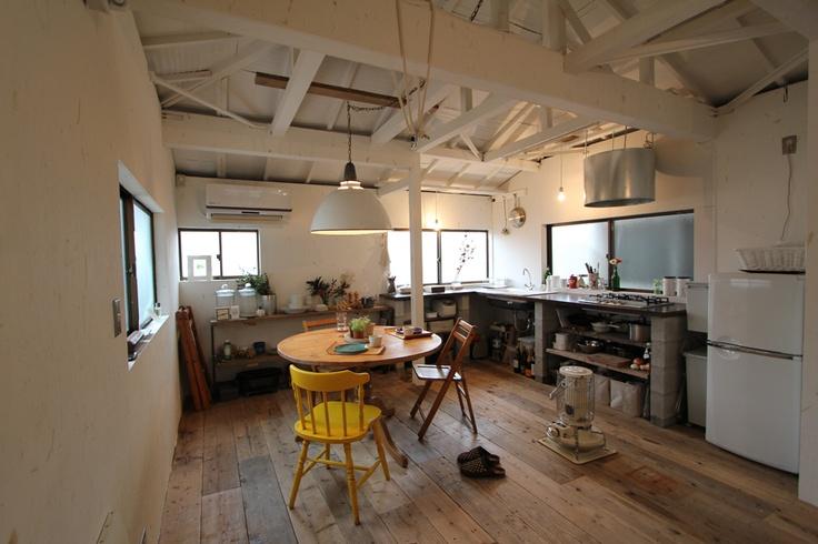 リノベーション 設計事務所 FieldGarage Inc. www.fieldgarage.com/ LIVING & DINING _ リビング ダイニング