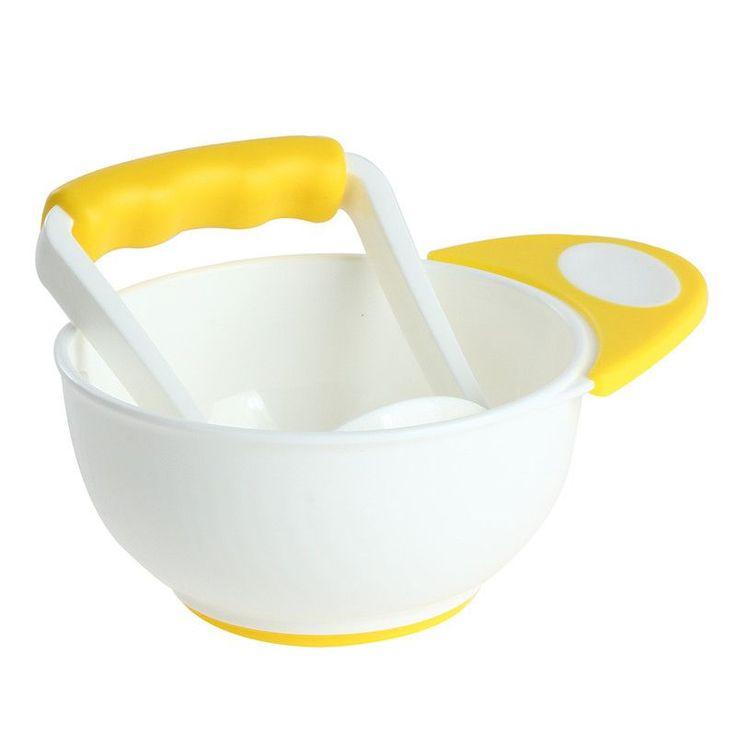 Manual Freshfood Infant Baby Food Supplement DIY Food Grinding Bowl Dismembyator Baby Food Mills