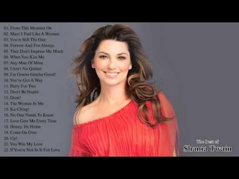 Best Songs of Shania Twain    Shania Twain's Greatest Hits - YouTube