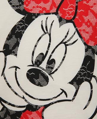 Lace Minnie Mouse® Top   FOREVER21 girls - 2030187039
