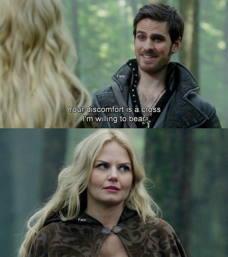 """Emma and Hook, #CaptainSwan """"Snow Drift"""" 3*21"""