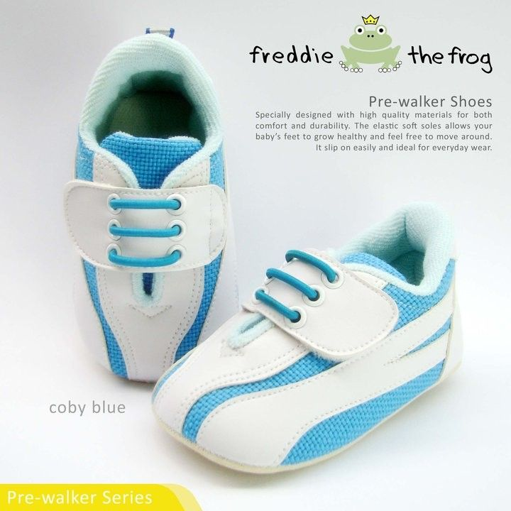 Coby Blue    Condition  	New      Type: Pre-walker Shoes  Material: Fabric  Size available :  Size 3   (3-6m) 11cm  Size 4   (6-9m) 11.5cm  Size 5   (9-12m) 12cm  http://baby.letimahouse.com   Text & Whatsapp: +62-877-8080-6878 #sepatubayikeren #sepatubayiindo #sepatubayi #sepatubayiimut #freddiethefrogindo #freddiethefrog #freddiethefrogshoes #Jualsepatubayi #prewalkershoes #prewalker #tokobayimurah #tokobayi #tokobayijakarta #balita #batita