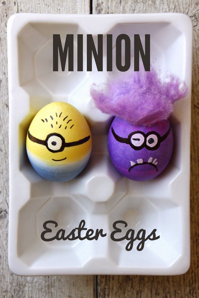 Minion Easter Eggs - We Have Aars