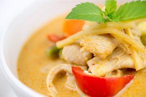 Recette Curry de poulet au lait de coco pour 4 personnes - GRAND FRAIS