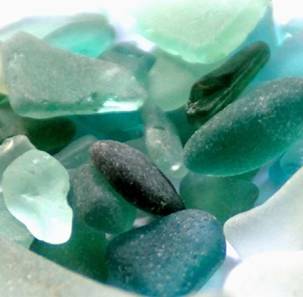 Love the colors of Sea Glass