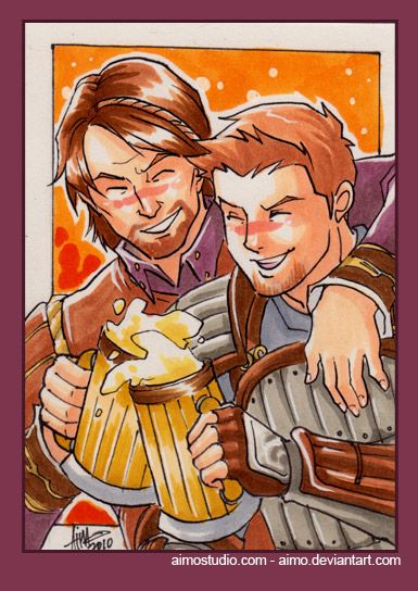PSC - Alistair and Teagan by aimo.deviantart.com on @deviantART