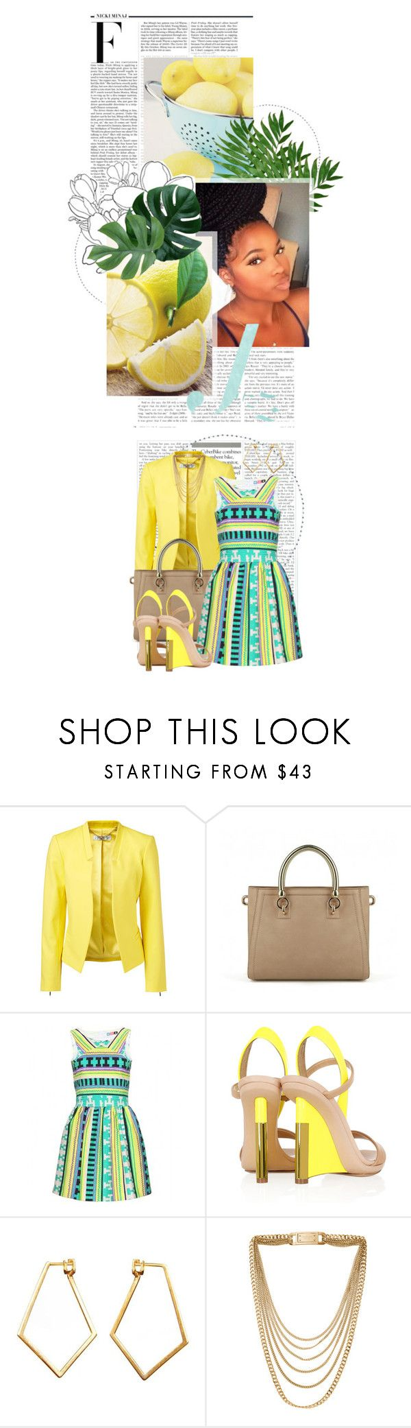 """""""NEW! Contest: Color Gallery!"""" by crystal85 ❤ liked on Polyvore featuring Nicki Minaj, Forever New, MSGM, Reed Krakoff, Dutch Basics and Michael Kors"""