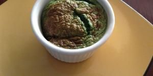 Receta de Souffle de espinaca y queso