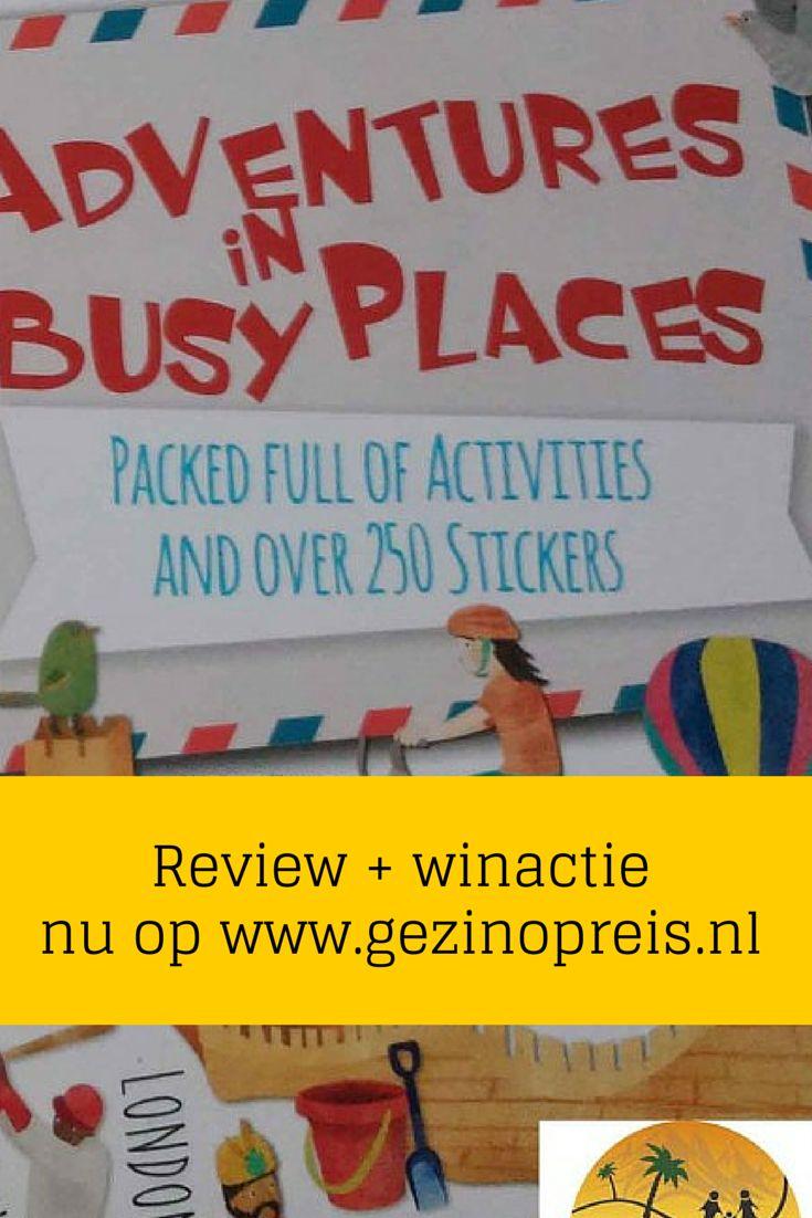 """We geven een exemplaar """"Adventures in Busy Places"""" en een exemplaar """"Adventures in Wild Places"""" weg. Twee nieuwe kinder reisboeken vol spelletjes en stickets. Doe mee vertel ons jouw beste tip om de kids onderweg te vermaken op http://www.gezinopreis.nl/lonely-planet-adventures/"""