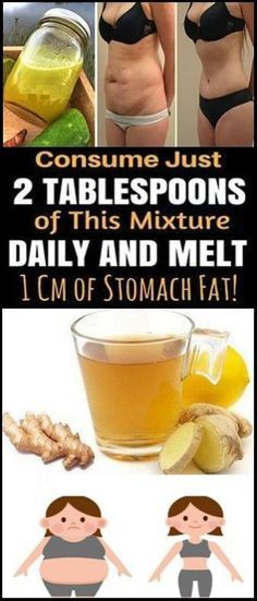 2 TABLESPOONS OF THIS MIXTURE DAILY AND MELT 1 CM OF STOMACH FAT NATURALLY