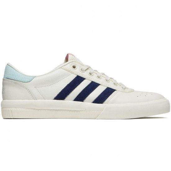 6cad8cd5c26ac8 Adidas X Helas Lucas Premiere Shoes - Off White Dark Blue Clear Aqua ...