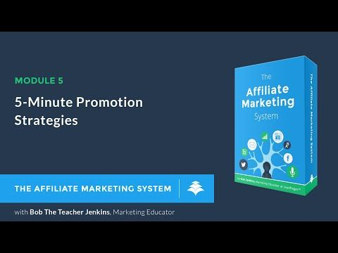 5-Minute Promotion Strategies - Affiliate Marketing System LeadPages (5 of 11) https://i.ytimg.com/vi/b5cP45ixJHQ/hqdefault.jpg