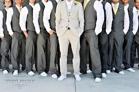 Can my groom rock a black tux with tail, while the groomsmen wear grey suits?? :  wedding Images?q=tbn:ANd9GcTfCtd7XdAY JGC54XzhH2AWy2yj0pCNckuq3OeSTzLarfFSg9k