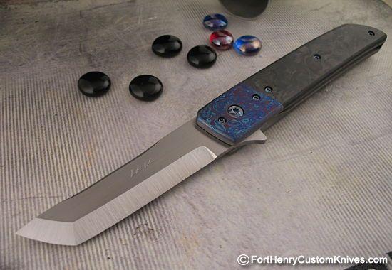 Pohan Leu Hamachi Framelock at Fort Henry Custom Knives