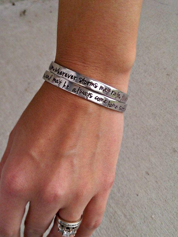 Lineman Bracelet Lineman Wife Prayer by SweetAspenJewels on Etsy