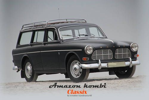 Volvo Amazon Kombi For Sale (1965)