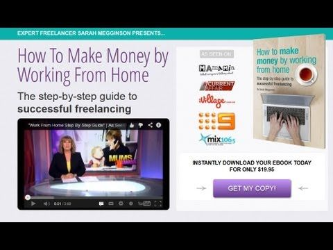 Our very own Sarah featured on 'A Current Affair' and her e-book launch, 'How to make money working by from home'.