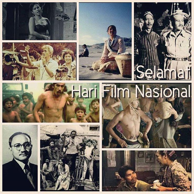"""""""Selamat Hari Film Nasional Tetap Setia nonton film Indonesia.."""""""