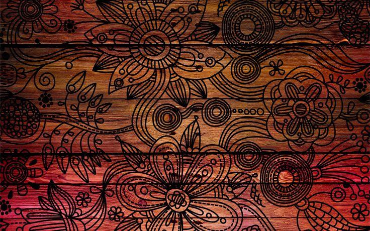 Brown Wood Pattern HD desktop wallpaper High Definition
