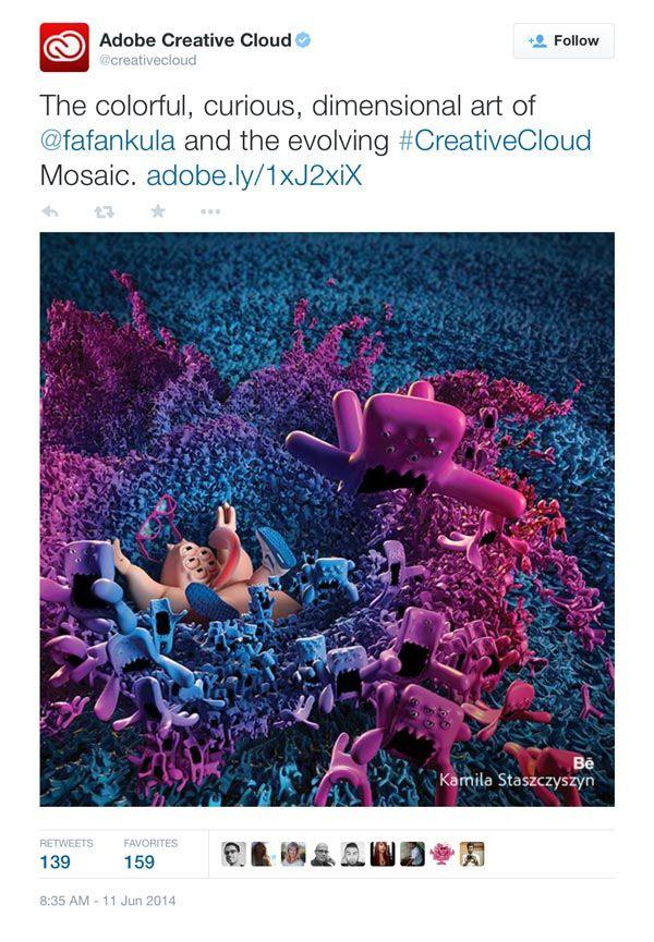 Creatures' Splash // for Adobe CC Mosaic 2014 on Behance