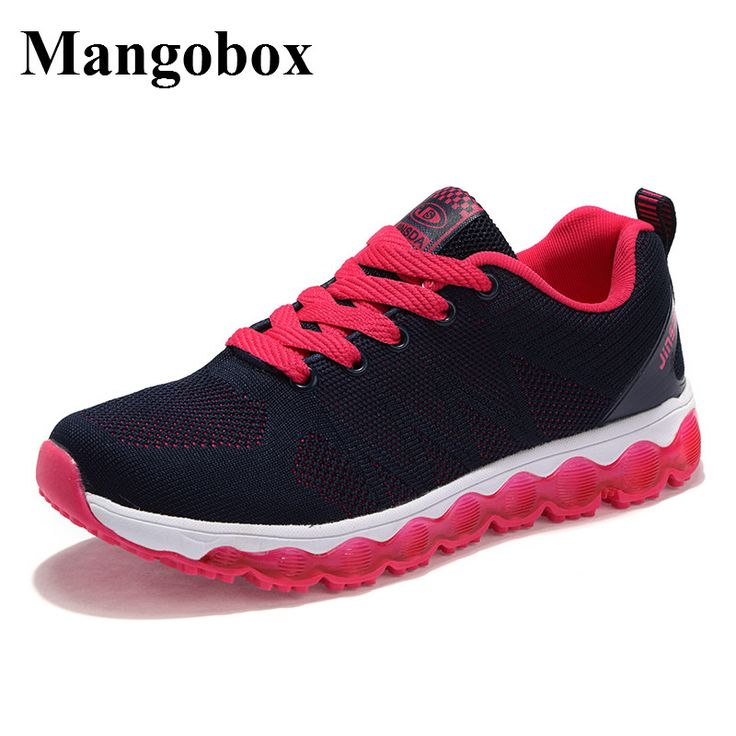 Mangobox Sneakers Women 2017 Flywire Ladies Sports Shoes Lace Up Trainer Sneakers Summer/Autumn Female Running Shoes #Affiliate