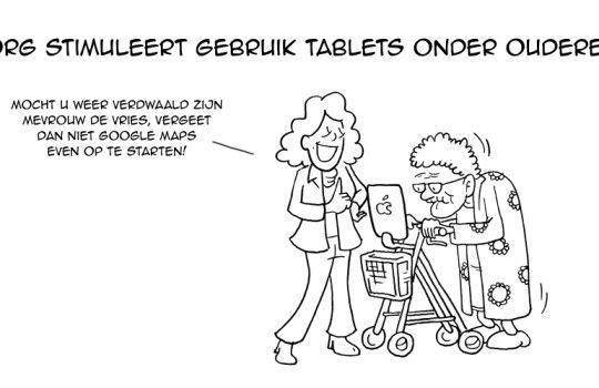Gebruik tablets onder senioren stijgt