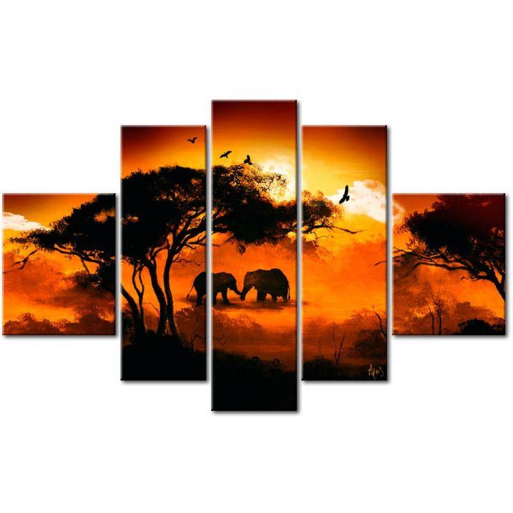 ¿Estilo étnico en el apartamento gracias a los cuadros pintados a mano? Ve la colección de cuadros África en la galería Artgeist. #etnicos #cuadros #cuadro #africa # africanos #decoraciones #decoracionespred #cuadrospintadosamano #cuadrospintados #homedecor