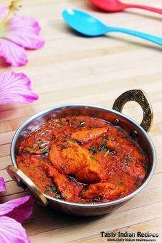 Chicken Masala in Red Spicy Gravy