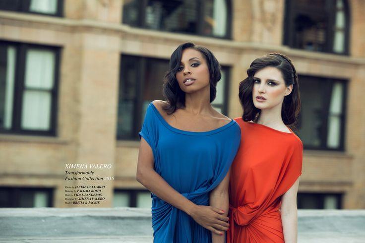 For Ximena Valero Fashion Designer by Jackie Gallardo. Makeup by Me Paloma Romo. Hair Stylist, Vidal Landeros. Models, Brisia & Jackie