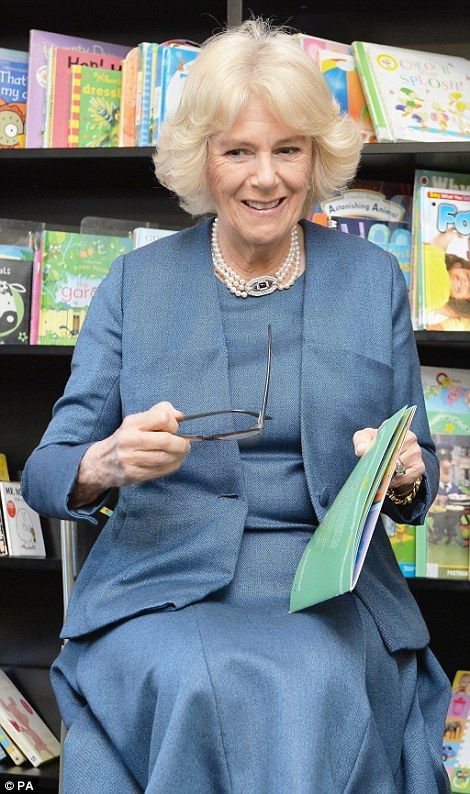 After unveiling a plaque to mark her visit, Camilla told a school assembly: 'I cannot believe that Queen's Gate has been going for 125 years; I feel like it's 125 years since I was here'