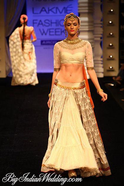 Neeta Lulla bridal lehenga Lakme Fashion Week 2012