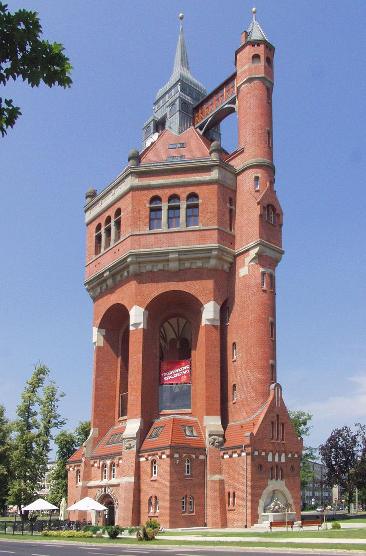 Water tower, Breslau, Poland. Considered to be one of the most beautiful water towers in the worldWater Towers, Beautiful Water, Breslau Wroclaw, Do You, Consider, Architecture Poland, Beautiful Poland, Polska Poland, Wroclaw Poland