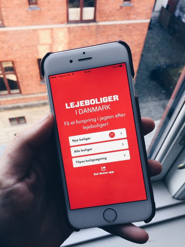 """""""Lejeboliger i Danmark"""" hedder Boligdeal's nye app som kan downloades til iPhone og Android. Læs om appen her: http://www.boligdeal.dk/nyheder/ny-lejebolig-app-giver-besked-om-nye-lejeboliger-med-det-samme.aspx"""