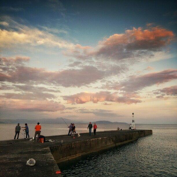 The wharf. Rafina, Attica, Greece.
