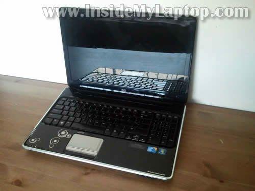 HP Pavilion dv6 laptop disassembly