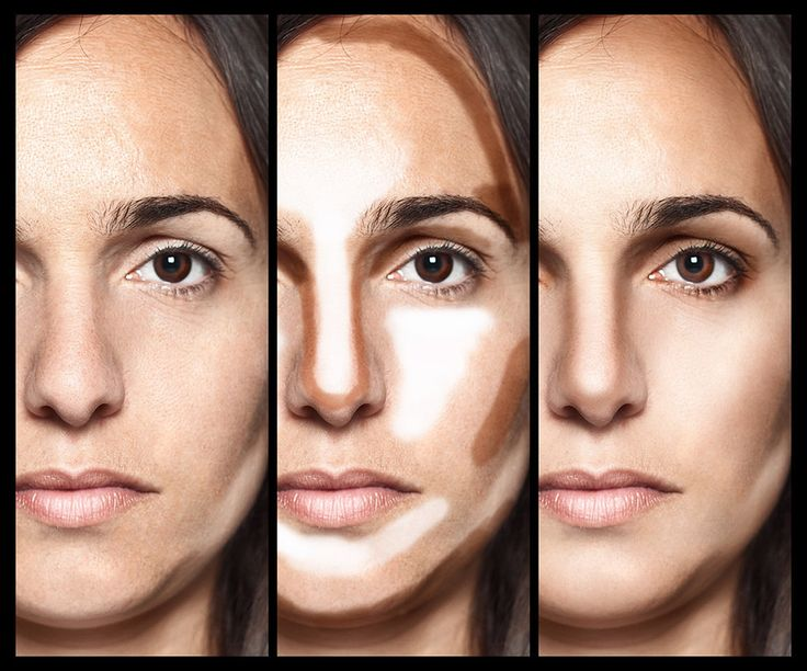 Step by step contouring guide.  Duplicate this look using Younique's Touch foundations or BB Flawless.  Contour makeup beautiful!