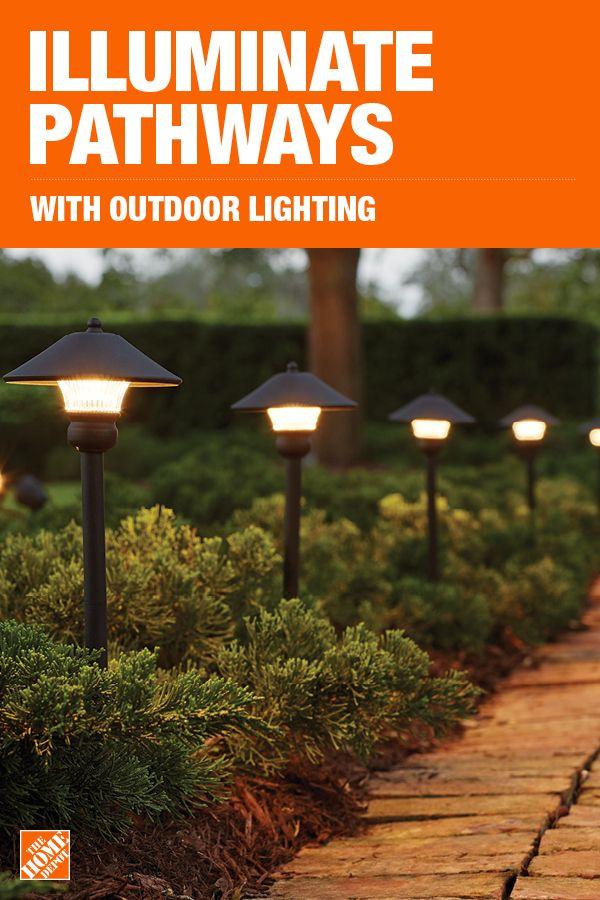 outdoor landscape lighting backyard