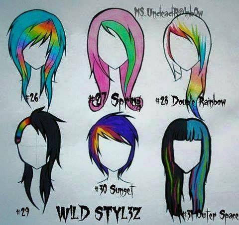 pin mya hair reference