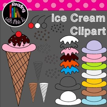 There are so many ways to use these icecream clipart pieces in your products. Now you can stack as many scoops as you want on the cone in any pattern.  This contains 26 pieces as follows: A single cherry (colour, white fill and transparent centre) A Waffle cone (colour, white fill and transparent centre) Scoops (7 colours, white fill and transparent centre) Sprinkles (3 colours, white fill and transparent centre) Syrup (4 colours, white fill and transparent centre)  TRANSPARENT PNG   As…