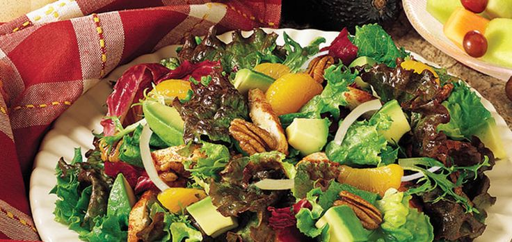 #6-Fave Ready Pac recipe-California Avocado Mandarin Salad #readypac and #fit&fresh