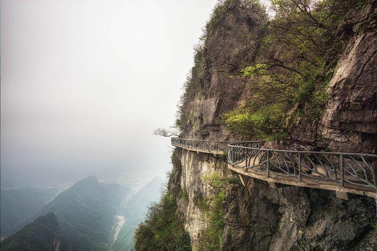 Una puerta a otro mundo - La magia natural de China: enamórate de Tianmén y Zhangjiajie