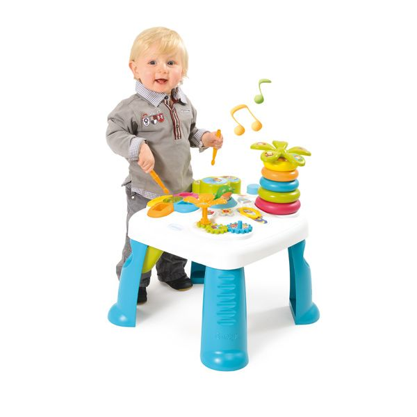Table D Activite Jeu D Eveil Cotoons Bleu Smoby King Jouet Activites D Eveil Smoby Jeux D Eveil Jeux Eveil Jouet Enfant Table D Activite