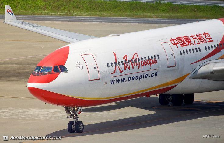 China Eastern A330-343X / B-6126 / msn 777